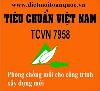 TCVN 7958:2008 - Phòng chống mối cho công trình xây dựng P3